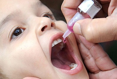 От полиомиелита привиты по всей стране уже 170 тысяч детей