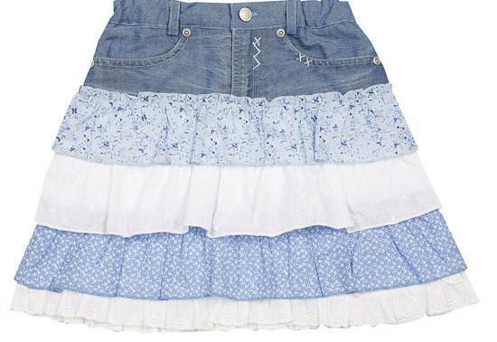 Модный хит зимы — современные юбки с рюшами