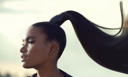 Волосы первыми завоёвывают взгляд