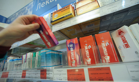 В России могут ввести рецепты на спиртосодержащие ЛС