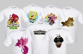 Фотопечать на футболках: быть креативным – просто!