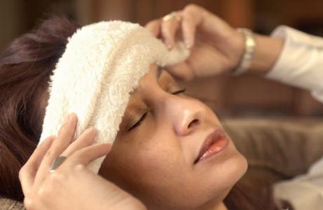 Применение народных средств от головной боли