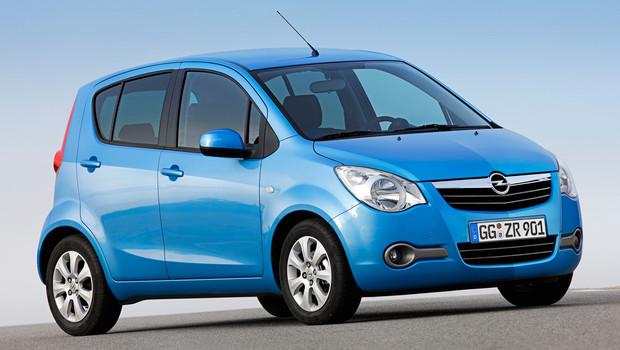 Opel Agila король городских дорог