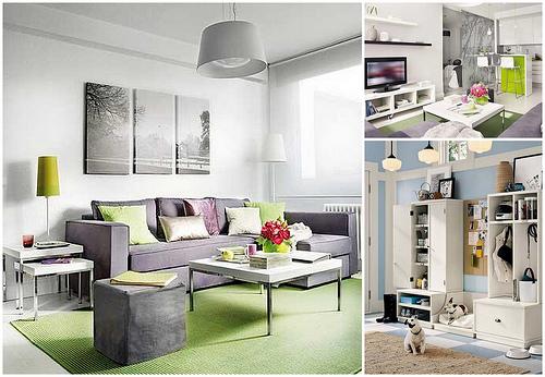 Небольшая квартира для молодой семьи