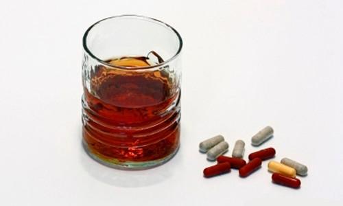 Сочетание некоторых препаратов с алкоголем и их воздействие на организм