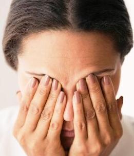 Усталость и покраснение глаз