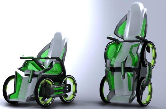 Варианты инвалидных колясок