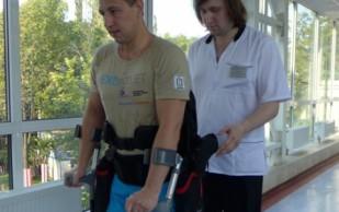 Начались КИ первого российского экзоскелета