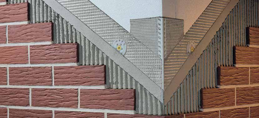 Теплоизоляция фасада клинкерной облицовкой