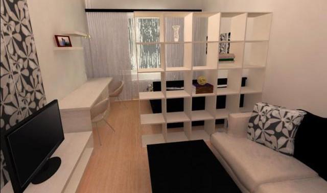 Гостиная и спальня в одной комнате: как организовать пространство правильно?