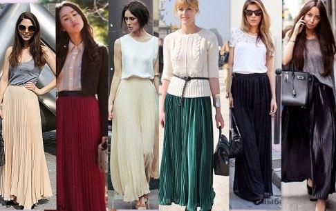 Как правильно подобрать для себя макси платье и юбку