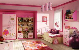 Декорируем комнату для девочки