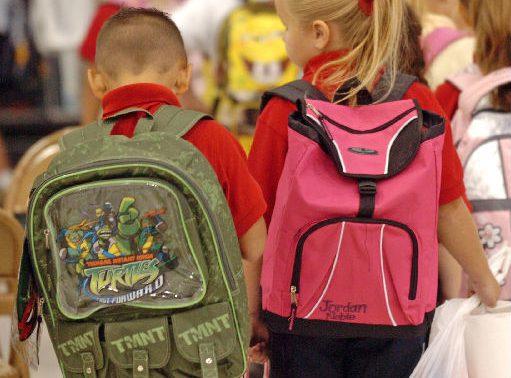 Вес рюкзака влияет на состояние здоровья спины ученика