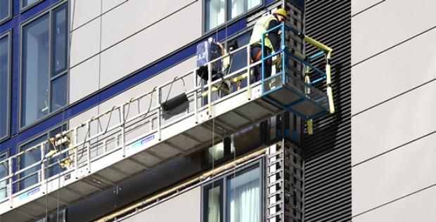 Фасадные люльки от компании «Высотные лифты»