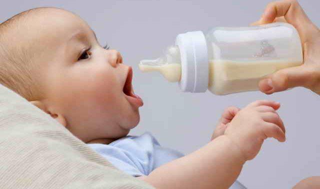 Молочная кухня или молочные смеси?