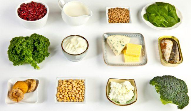 Какие продукты необходимы для здоровых костей