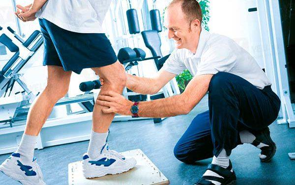 Реабилитация после замены коленного сустава