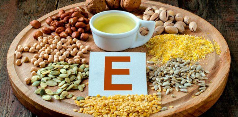 Полезные свойства витамина Е