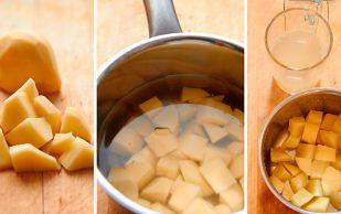 Очистка суставов картофельной водой
