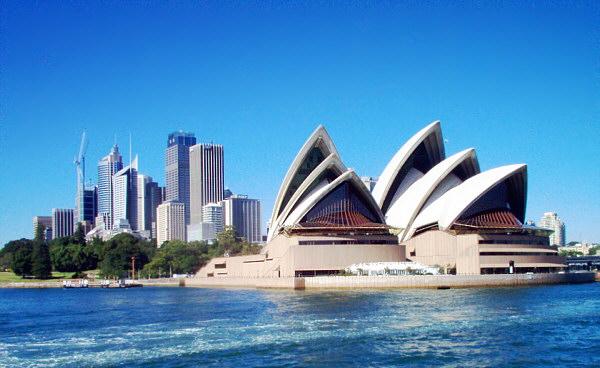 Главная достопримечательность города Сидней