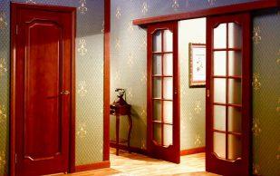 На какие виды делятся внутренние двери?