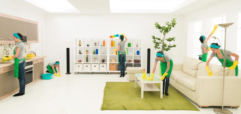 Высокое качество клининга по уборке дома