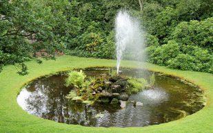 Строительство фонтана на участке — общая информация