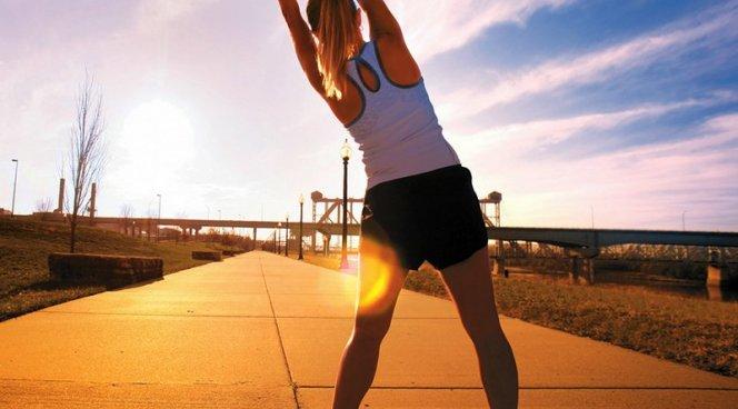 Утренняя зарядка — как правильно делать