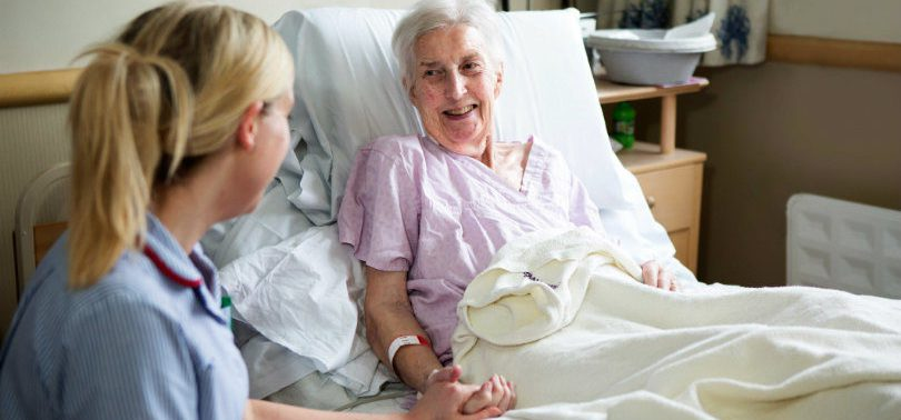 Уход за больными и пожилыми людьми от фирмы МосМедПатронаж