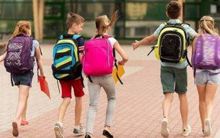 Школьные рюкзаки не вредят позвоночнику детей