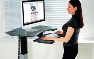Стоячие столы для офиса — так ли они полезны?