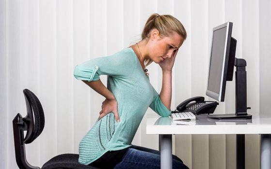 Боль в спине при длительном сидении: основные причины и методы лечения