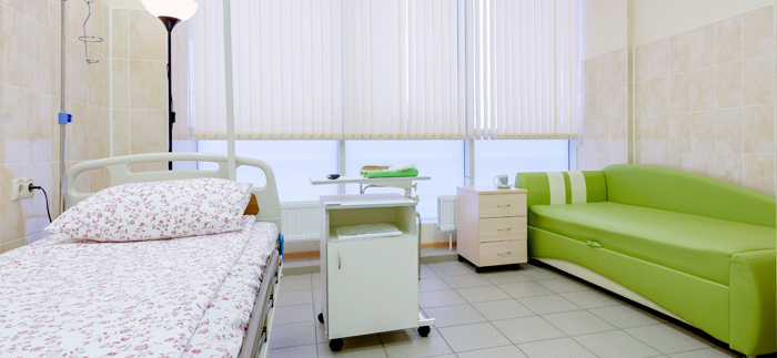 Пребывание и лечение в стационаре мед клиники