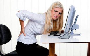 Врачи рассказали, как уберечь спину при сидячей работе