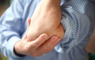 Боль в локтевом суставе правой руки: причины и лечение