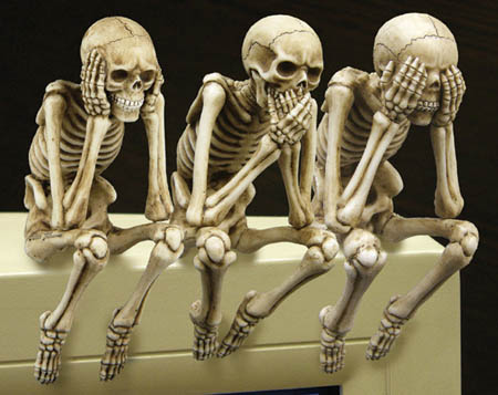 Шесть забавных фактов о человеческом скелете