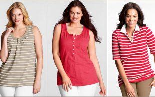Выбираем одежду для полной девушки