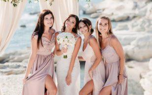 Самые красивые платья на свадьбу к подруге