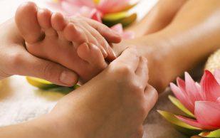 Массаж ступней при остеопорозе