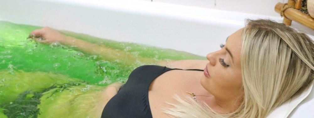 Целебные ванны при остеохондрозе