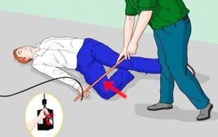 4 полезных совета по оказанию первой помощи при поражении электрическим током