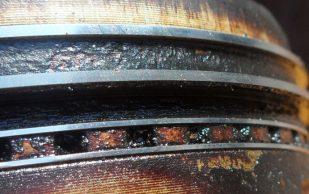 Нагар на поршневых кольцах, основные причины