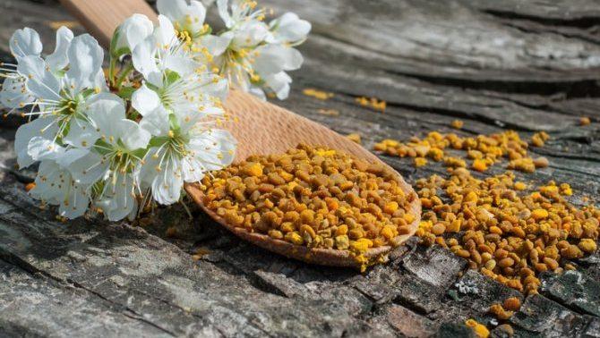 5 рецептов из цветочной пыльцы для здоровья суставов