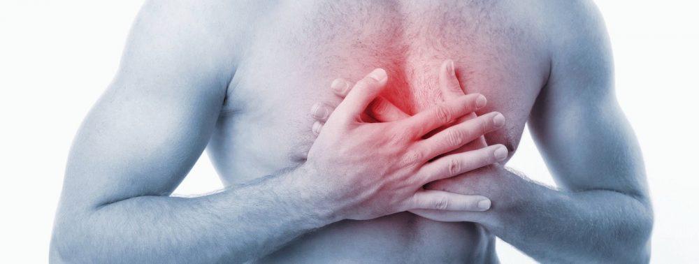 Боли в груди при заболеваниях позвоночника