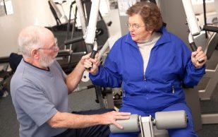 Интенсивные тренировки способствуют профилактике переломов у пожилых женщин